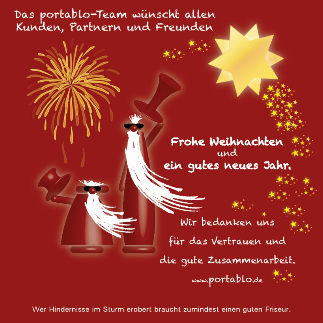 portablo - portablo wünscht Frohe Weihnachten!